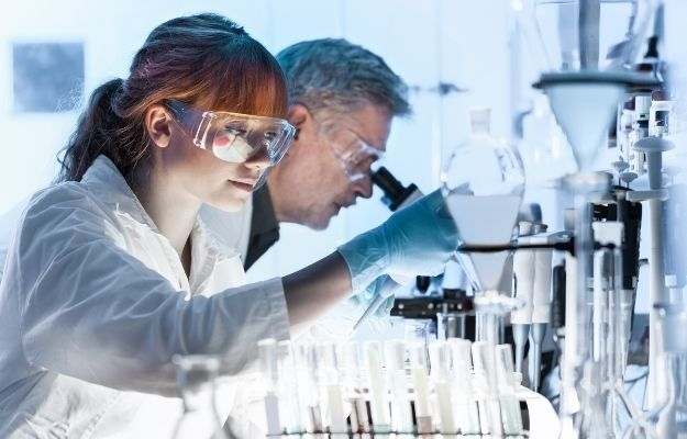 two scientists in the lab - ca | PCR Test Alternative: Sound Based Surveillance as an Acceptable Compromise Between Privacy and Data Needs | Biosensing: PCR Test Alternative of the Future