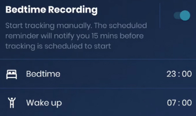 Day, Night, or 24_7 Recording Interface | Hyfe App Walkthrough: Functions | Feature | Hyfe App Walkthrough: How To Use Hyfe App To Track Your Cough