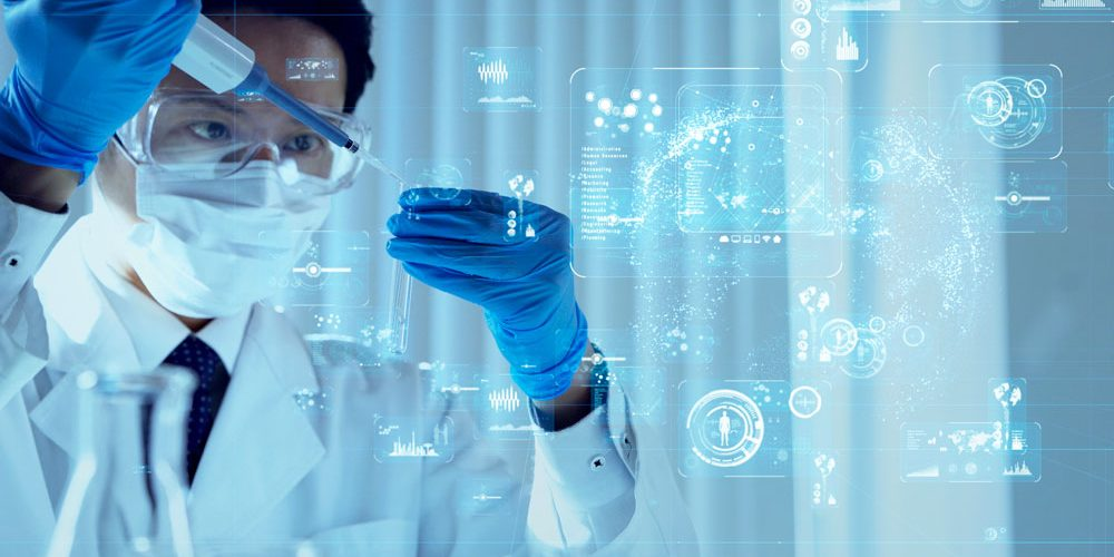 asian-scientist-in-protective-equipment-fill-up-vial-to-create-new-drug-medical-data | Feature | How Artificial Intelligence In Medicine Has Evolved