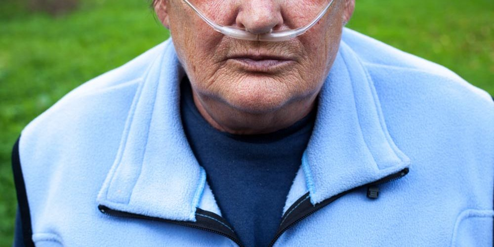 senior-man-using-breathing-support-because-of-having-COPD   What Are the 4 Stages of COPD?