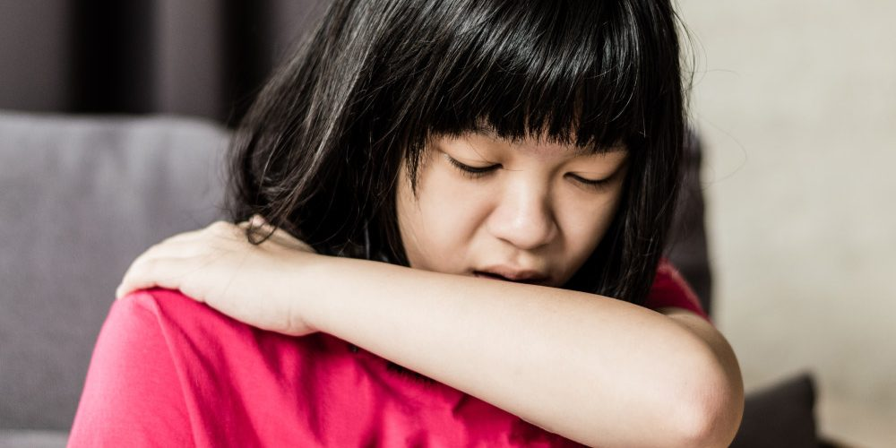 Asia-girl-child-coughing | Feature | My Child Has a Cough. What Should I Do?