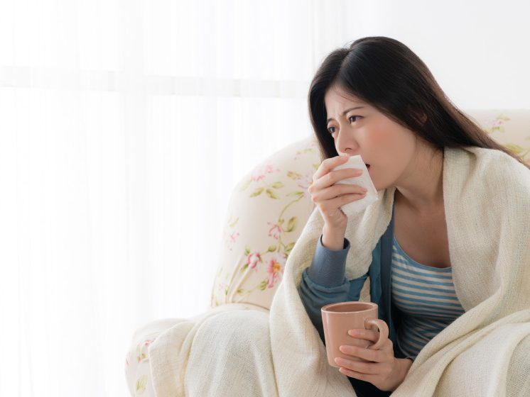 Asian-women-coughing | 6 Top Natural Cough Medicines | feature