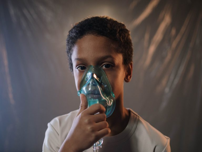 Chronic cough in asthma may require inhaler or oxygen supplementation